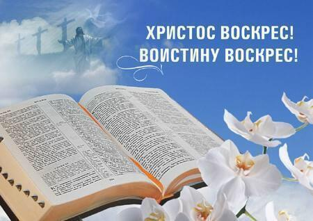 Воскрес воистину воскрес поздравления