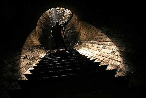 Лабиринт в туннеле