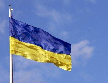 прапор України майорить в небі Молитва за Україну