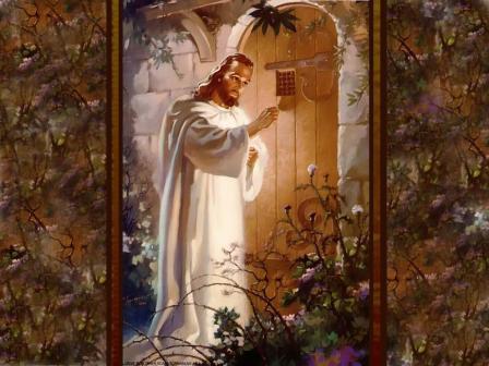 Иисус Христос стукает